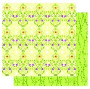 AW004 Floral Maze