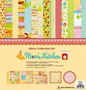 "MK015 12x12"" Glitter Collection Kit"